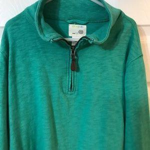 J Crew- Crew Cuts quarter zip pullover